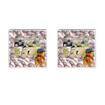 baseball cufflinks1 - Cufflinks (Square)