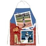 baseball apron2 - Full Print Apron