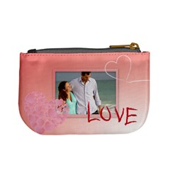 Love Of Bag By Wood Johnson   Mini Coin Purse   Ua98ld35ij1d   Www Artscow Com Back
