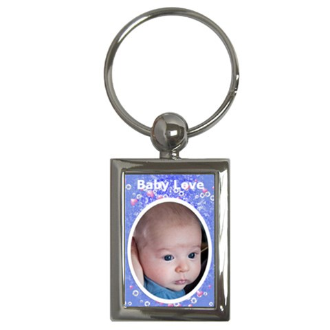 Baby Love Keychain By Laurrie   Key Chain (rectangle)   Duhidh5ddg0a   Www Artscow Com Front