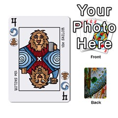 Decktet By Melody   Playing Cards 54 Designs   P3cjj4h2c9v3   Www Artscow Com Front - Heart4