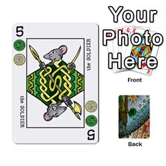 Decktet By Melody   Playing Cards 54 Designs   P3cjj4h2c9v3   Www Artscow Com Front - Heart6
