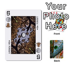 Decktet By Melody   Playing Cards 54 Designs   P3cjj4h2c9v3   Www Artscow Com Front - Heart7