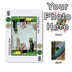 King Decktet By Melody   Playing Cards 54 Designs   P3cjj4h2c9v3   Www Artscow Com Front - HeartK