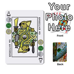 Decktet By Melody   Playing Cards 54 Designs   P3cjj4h2c9v3   Www Artscow Com Front - Diamond10