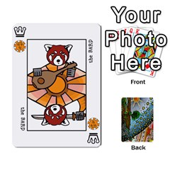 Decktet By Melody   Playing Cards 54 Designs   P3cjj4h2c9v3   Www Artscow Com Front - Club3
