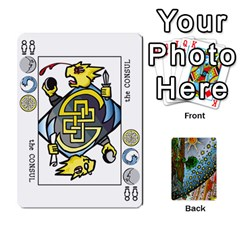 Decktet By Melody   Playing Cards 54 Designs   P3cjj4h2c9v3   Www Artscow Com Front - Club4