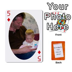 Dad Cards 2011 By Nichole Johnson   Playing Cards 54 Designs   Gajlufsucnb8   Www Artscow Com Front - Diamond5