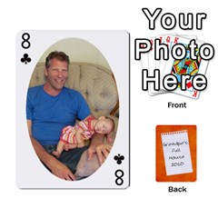 Dad Cards 2011 By Nichole Johnson   Playing Cards 54 Designs   Gajlufsucnb8   Www Artscow Com Front - Club8