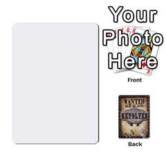 Revolver Bandit Deck By Mark Chaplin   Playing Cards 54 Designs   Xjnyyy1xgzj5   Www Artscow Com Front - Club6