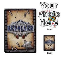 Revolver Lawmen Deck By Mark Chaplin   Playing Cards 54 Designs   39brw2xjmbgp   Www Artscow Com Back