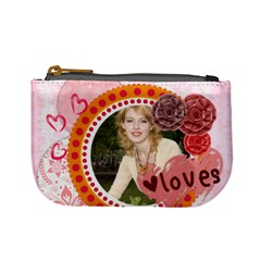 Love By Joely   Mini Coin Purse   5ahdo3rvcfxb   Www Artscow Com Front