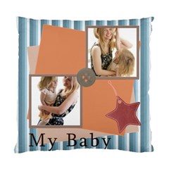 My Baby By Joely   Standard Cushion Case (two Sides)   Pw5vv79szdjk   Www Artscow Com Back