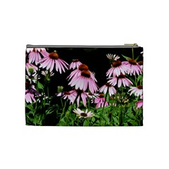 Purple Cones Med Bag2 By Debra Macv   Cosmetic Bag (medium)   N2s6xw2f2858   Www Artscow Com Back