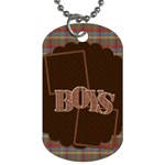 The Boys of Fall Dog Tag 2 sided 1 - Dog Tag (Two Sides)