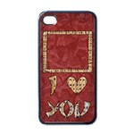 Japan i love you - Iphone case black - Apple iPhone 4 Case (Black)