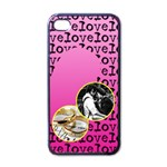 Love letter - Iphone case black - Apple iPhone 4 Case (Black)