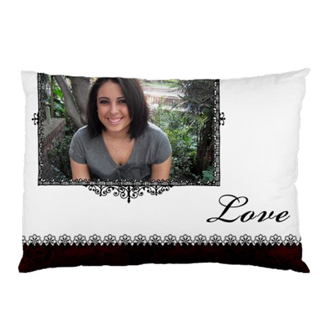 Pillow Case By Ana   Pillow Case   7w2014fcd1sf   Www Artscow Com 26.62 x18.9 Pillow Case