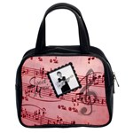 Sweet Music Double sided classic handbag - Classic Handbag (Two Sides)