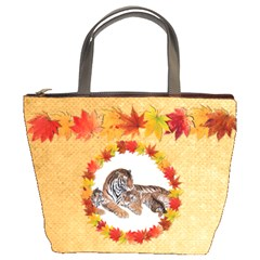 Autumn Glory Bucket Bag By Catvinnat   Bucket Bag   Prjrxdygsa5w   Www Artscow Com Front