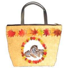 Autumn Glory Bucket Bag By Catvinnat   Bucket Bag   Prjrxdygsa5w   Www Artscow Com Back