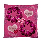I m Yours Be Mine Love Heart Cushion Case - Standard Cushion Case (One Side)