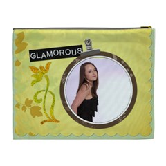 Irresistable/glamorous Xl Cosmetic Bag By Lil    Cosmetic Bag (xl)   Tt5ge2amyug3   Www Artscow Com Back