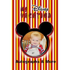 My Disney Vacation Notebook By Danielle Christiansen   5 5  X 8 5  Notebook   E4bj8k1yo7r4   Www Artscow Com Front Cover
