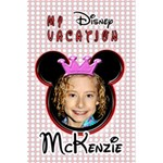 my disney vacation girl notebook - 5.5  x 8.5  Notebook