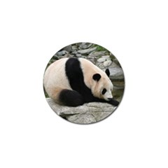 Giant Panda Golf Ball Marker by ironman2222