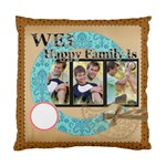 Happy family - Standard Cushion Case (Two Sides)