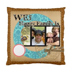 Happy Family By Joely   Standard Cushion Case (two Sides)   Dijf6u9ozpfe   Www Artscow Com Back