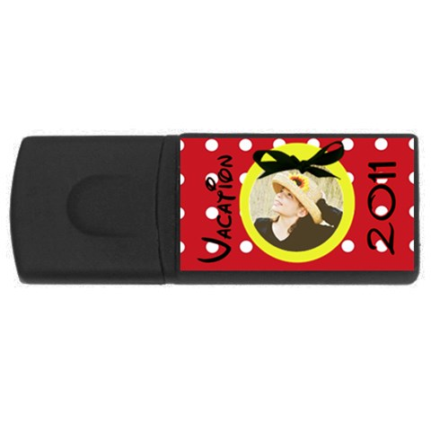Vacation 2011 Usb By Danielle Christiansen   Usb Flash Drive Rectangular (4 Gb)   5ctsl3ncbmhu   Www Artscow Com Front