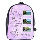 Days of Summer Large school bag back pack - School Bag (Large)