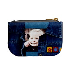 Denim Doll Coin Purse By Danielle Christiansen   Mini Coin Purse   Xd47lvwpol5f   Www Artscow Com Back