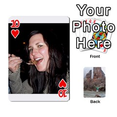 Bri Card By Laura   Playing Cards 54 Designs   Ihec8uzpz7uj   Www Artscow Com Front - Heart10