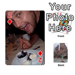 Bri Card By Laura   Playing Cards 54 Designs   Ihec8uzpz7uj   Www Artscow Com Front - Diamond2