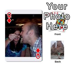 Queen Bri Card By Laura   Playing Cards 54 Designs   Ihec8uzpz7uj   Www Artscow Com Front - DiamondQ