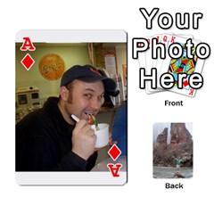 Ace Bri Card By Laura   Playing Cards 54 Designs   Ihec8uzpz7uj   Www Artscow Com Front - DiamondA