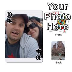 Bri Card By Laura   Playing Cards 54 Designs   Ihec8uzpz7uj   Www Artscow Com Front - Club10