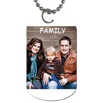 Familytag - Dog Tag (One Side)
