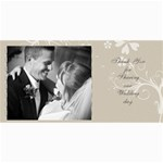 wedding cards - 4  x 8  Photo Cards