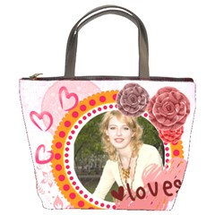 Love By Joely   Bucket Bag   7u0h62ycp2wz   Www Artscow Com Front