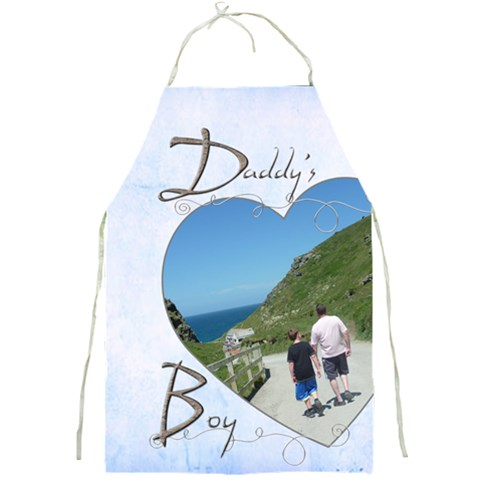 Daddy s Boy Full Print Apron By Catvinnat   Full Print Apron   Wsep0g9ja2xt   Www Artscow Com Front