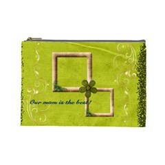 Best Mommy By Elena Petrova   Cosmetic Bag (large)   Bgzu5r9r3f69   Www Artscow Com Front