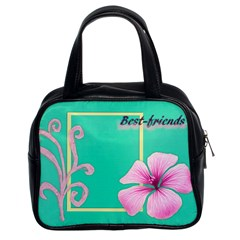 Best Friends By Kim White   Classic Handbag (two Sides)   Rqpe1w8hb2j7   Www Artscow Com Front