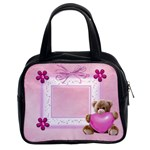 pink teddy bear - Classic Handbag (Two Sides)
