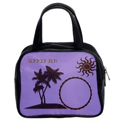 Summer Fun By Kim White   Classic Handbag (two Sides)   V98k6fvzw5vz   Www Artscow Com Front