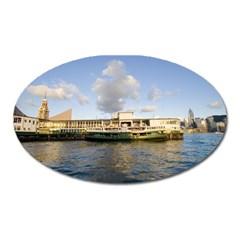 Hong Kong Ferry Magnet (oval)