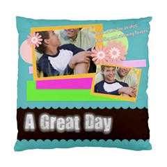 Family Gift By Joely   Standard Cushion Case (two Sides)   5wag3718u4vr   Www Artscow Com Front